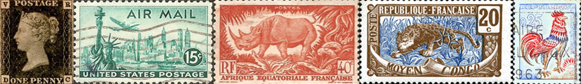 Stamp collecting web site